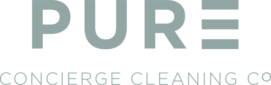 Pure Concierge Cleaning Co logo